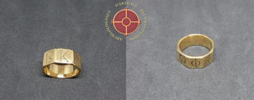 Bague de Koudiat Zateur gravée