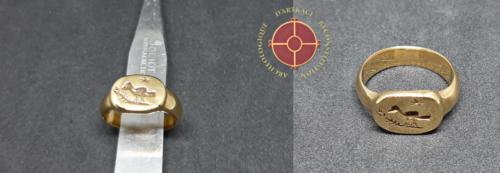 Bague de Koudiat Zateur anneau sigillaire