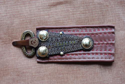 Merovingian buckle